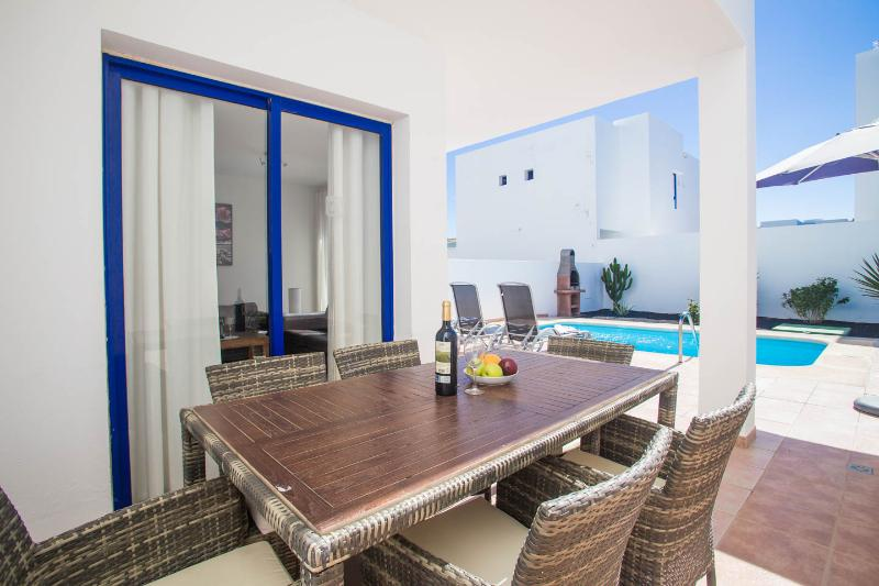 Duplex villa with private pool & BBQ / WIFI and parking free