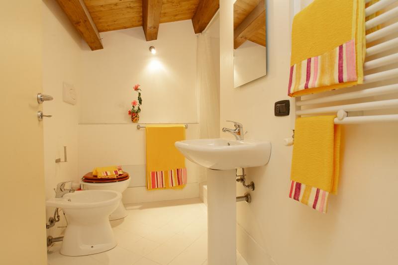 Bathroom at the attic floor