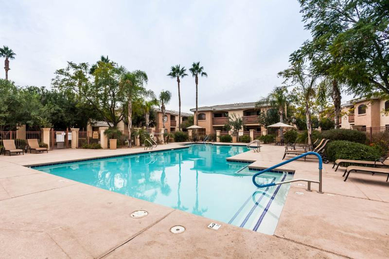 Pool heated to 85 degrees November through March