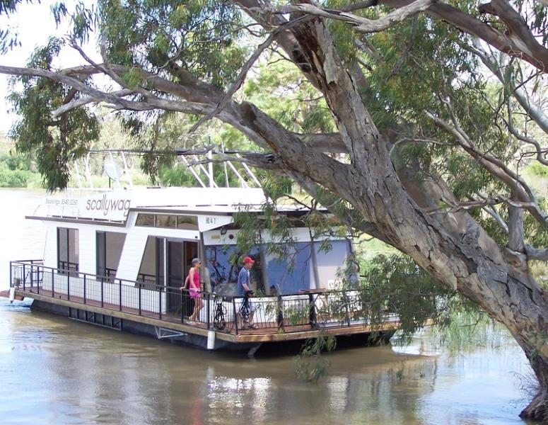 Enjoy cruising along the  Murray River, or use the houseboat as your floating holiday base.