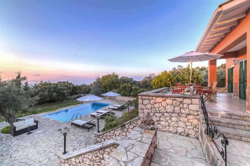 Villa Lithari, holiday rental in Lefkada Town