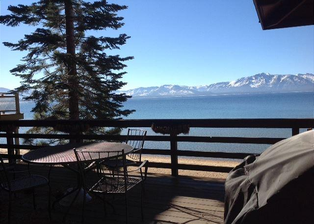 Tahoe, view from the deck