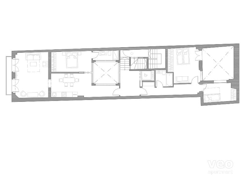 120 m² | first floor | ascensor