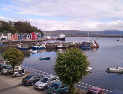 Harbourside, holiday rental in Tobermory
