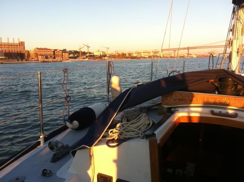 Segling i floden Tejo