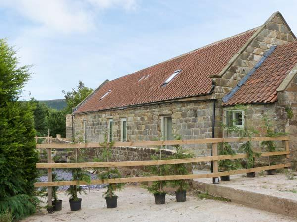 HORSESHOE COTTAGE, stone barn conversion, wet room, double-ended bath, granite, holiday rental in Potto