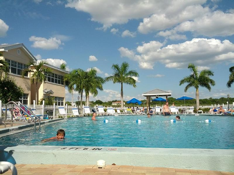 Plenty of space for a day in the sun unlike many other resorts with small pools