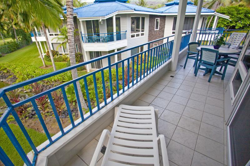 Unités supérieures avec zone de patio/balcon