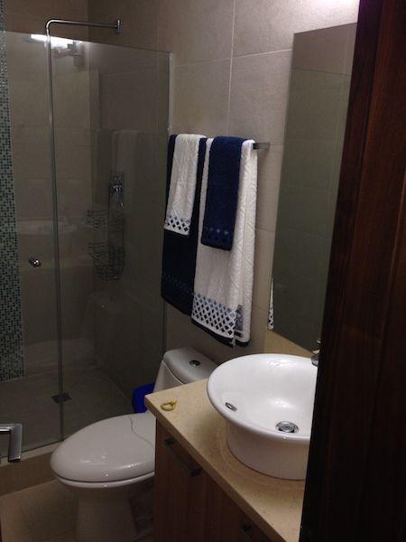 cuarto de baño y ducha