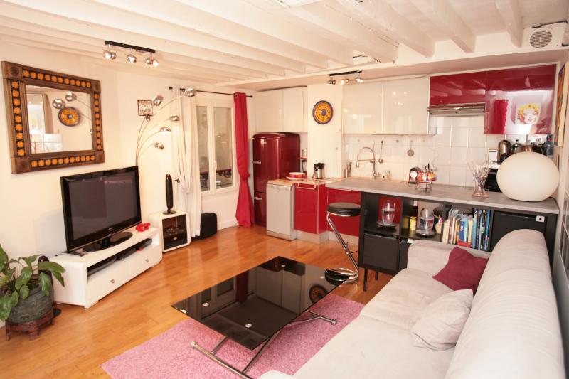 1 Bedroom Pompidou Centre (176), location de vacances à Paris