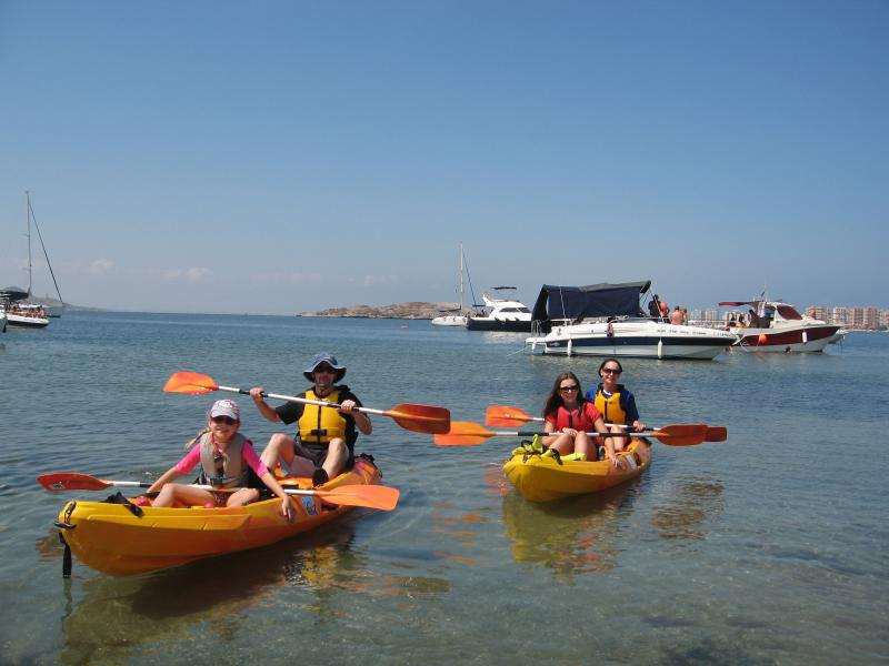 We run a watersports company called Aqua Adicta.  We can take you kayaking, windsurfing or sailing.