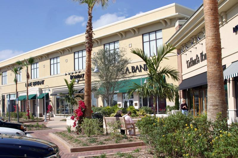 There is great nearby shopping in the Avenues at Viera