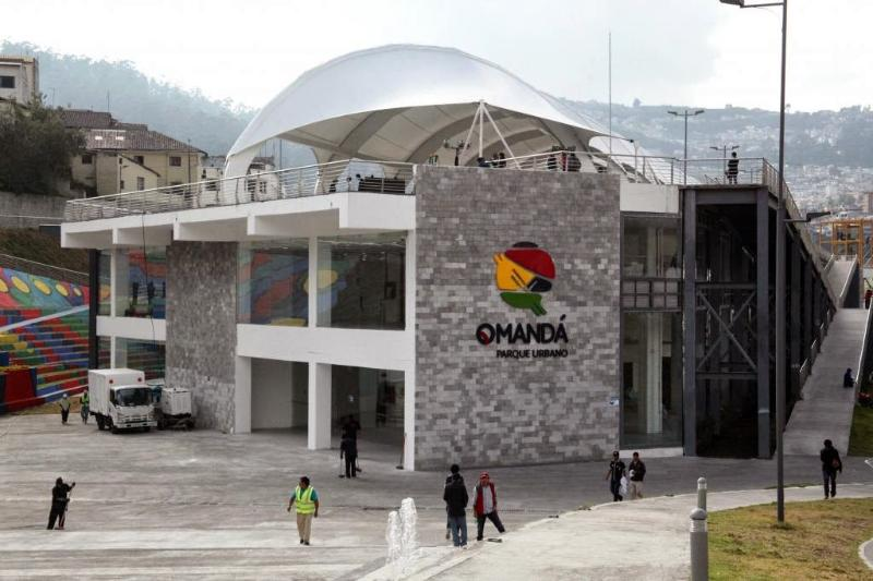 Centro recreativo QManda tiene actividades para niños y adultos, piscina, gimnasio y parque urbano.