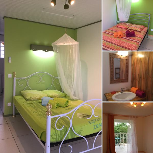 Your paradise, bedrooms and shower room, Holidays in the paradise for 6 pers