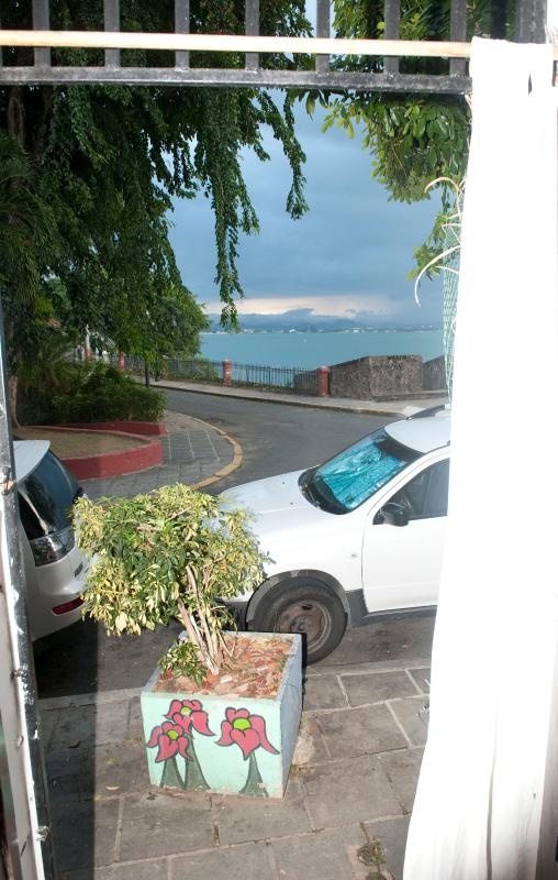 Another view of Bay and Old City Wall taken about 4 yards from entrance to this 1st floor apart.