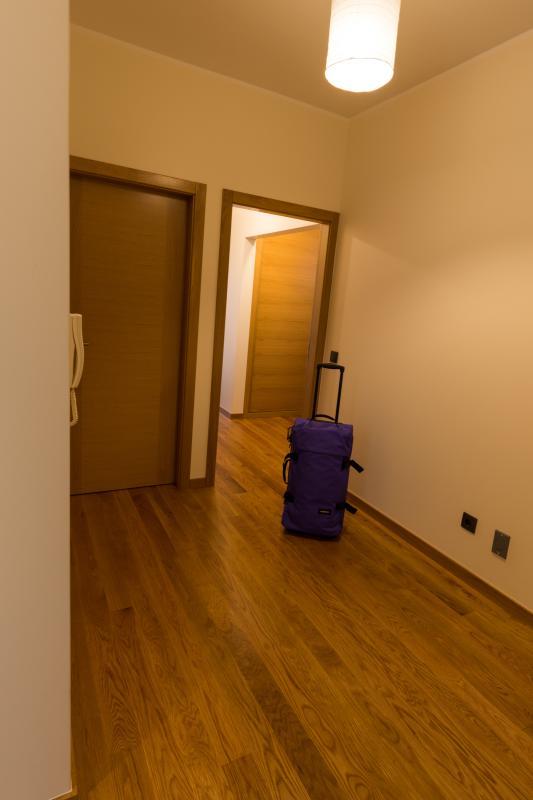 Zona de circulação dos quartos de dormir