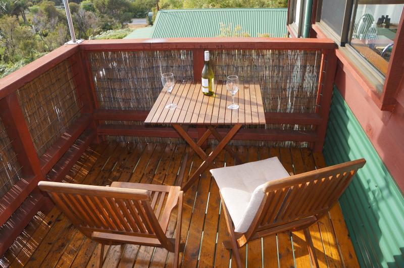 Private viewing verandah