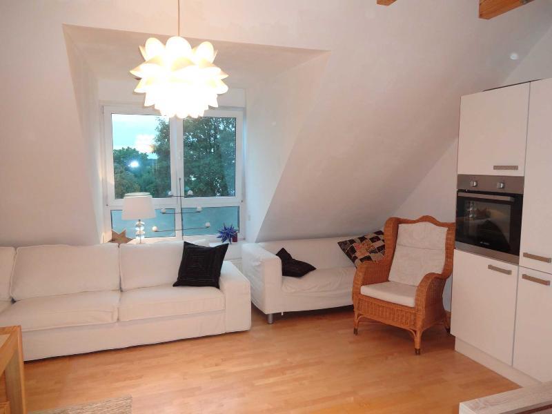Spazio ampio divano per lunghe chiacchierate nella notte mentre si riposa in un lussuoso e accogliente soggiorno.