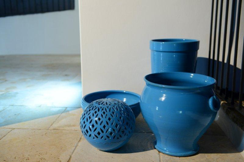 Beautiful pottery made locally in Grottaglie.