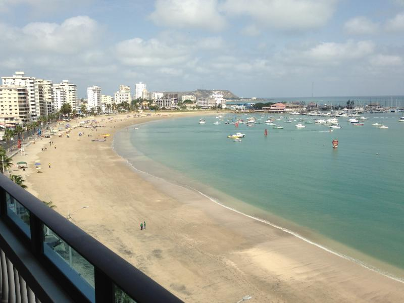 Beautiful Salinas, Ecuador Ocean Front Malecon Area 7th Floor Beautiful 3 BR/2.5 BA Condo