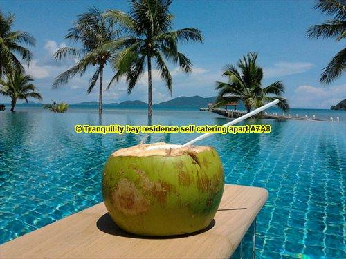 sea view  self catering 2 bedrooms apartment  Wifi - swimming pool -air co, holiday rental in Ko Chang
