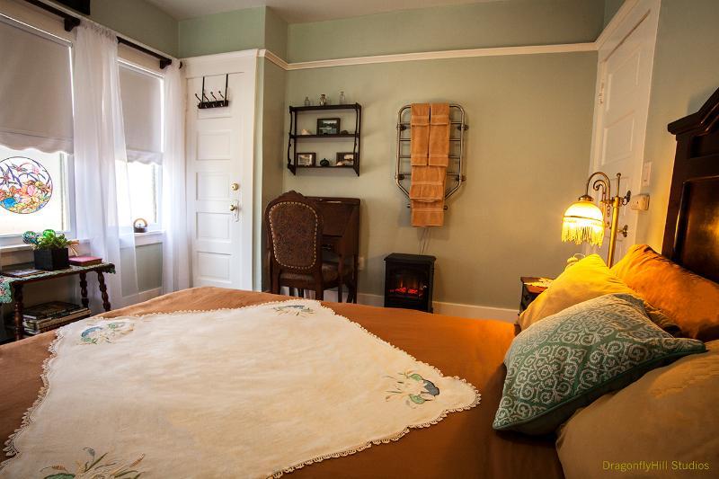 La Suite Lotus comprend et feu électrique et serviettes chaude.