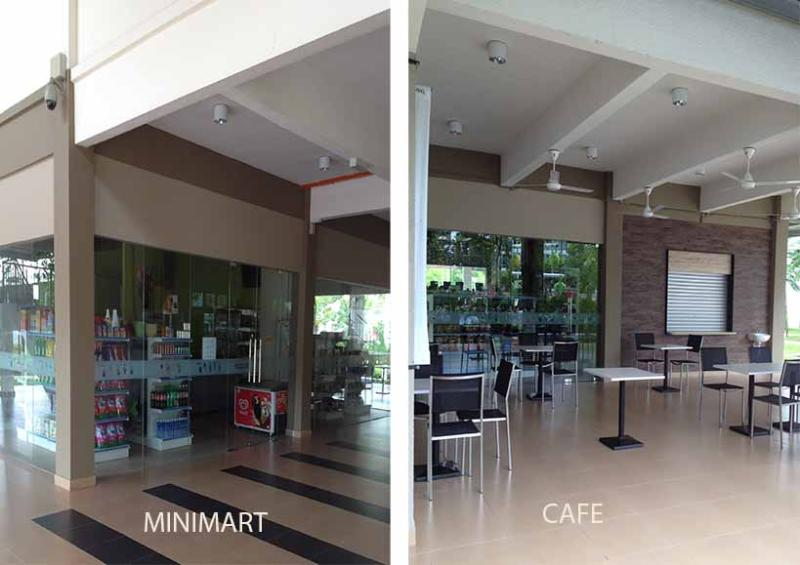 CAFE NEXT TO SWIMMING POOL, HAVE A BITE WHEN HUNGRY AFTER SWIM