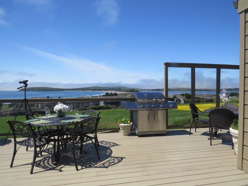 Stunning, 180 deg. Pacific Ocean, Bodega Bay - Head - Harbor Water Views From Spacious Upper Deck