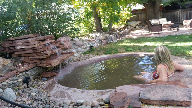 Hot Spring soaking pool