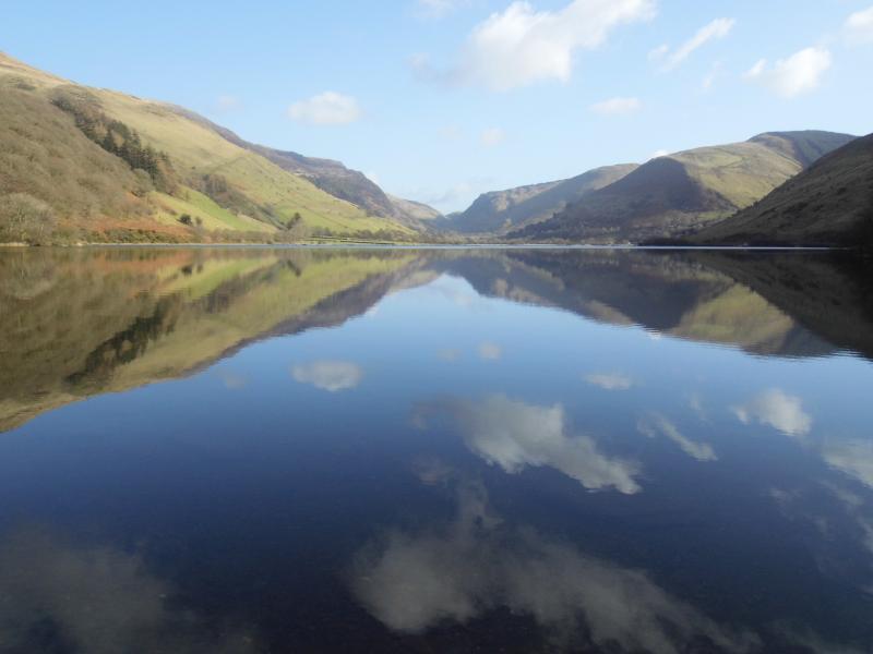 Tal-y-Llyn, the lake just below Cadair Idris