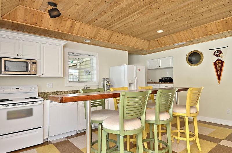 Rec Room kitchen