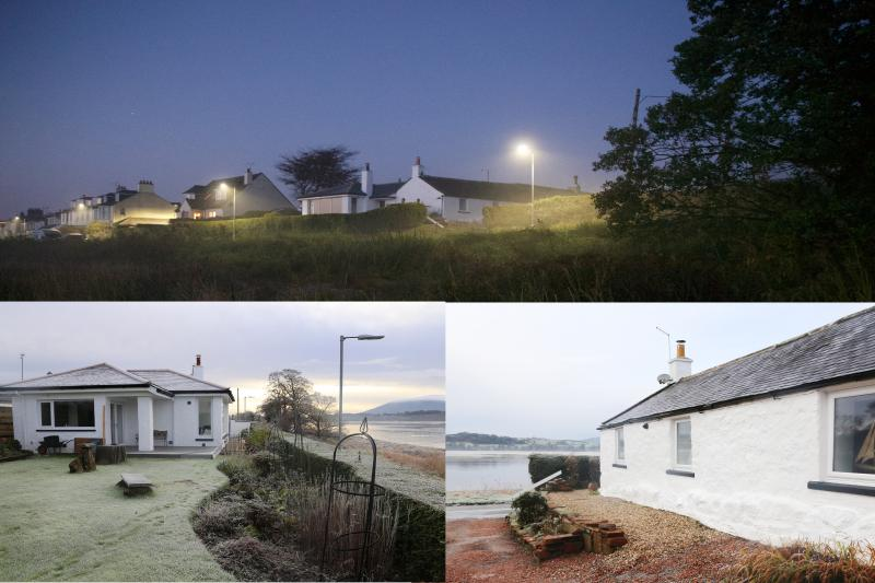 Shorepark Cottage on the edge of Glencaple village sleeps 1 to 6 people.