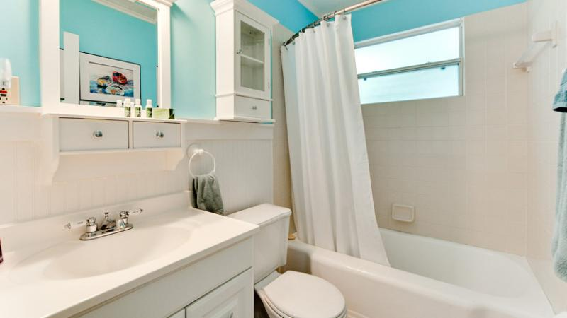 Bathroom Includes Tub/Shower Combo