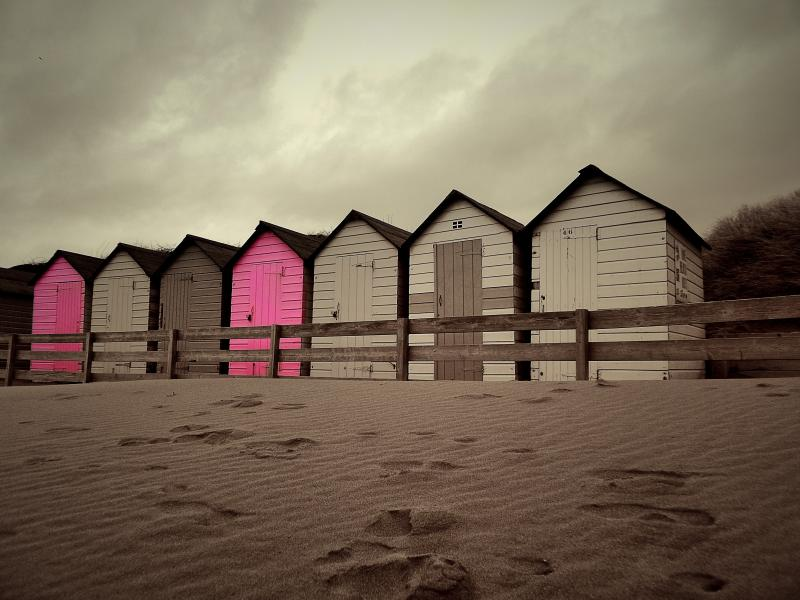 Beach Huts in Bude ©JPaget