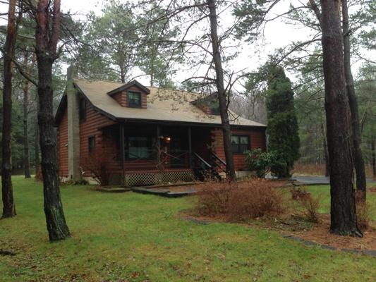 COZY WINTER Log Home in the Heart of the Pocono Mountains, holiday rental in Albrightsville