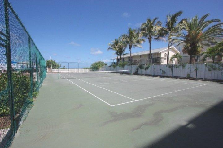Community Court con una splendida vista sull'Oceano Tennis