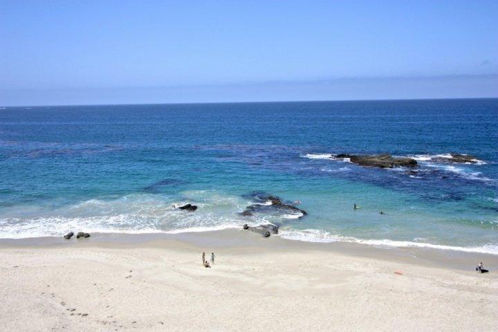 Beach just a few steps away