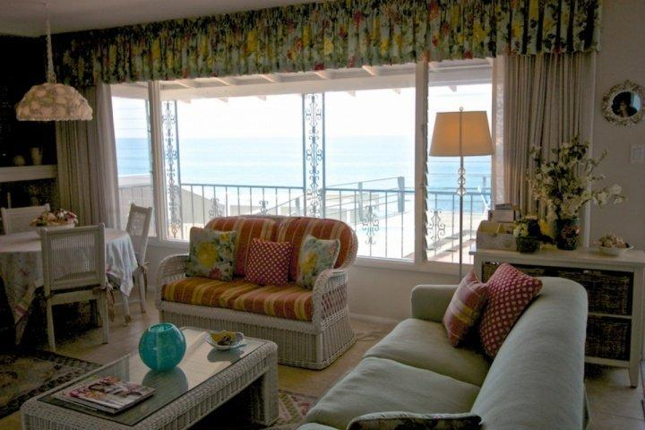 Ocean Views from Lving Room-see new sofa added in 2015
