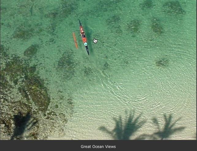 Pristine ocean water