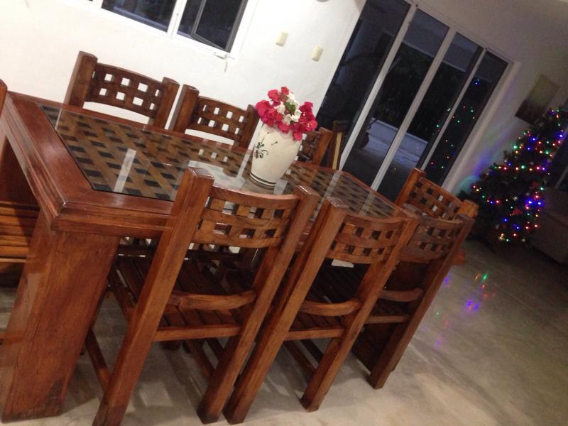dining area  December 2015