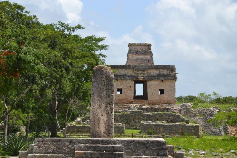 Dzibilchaltún sitio arqueológico