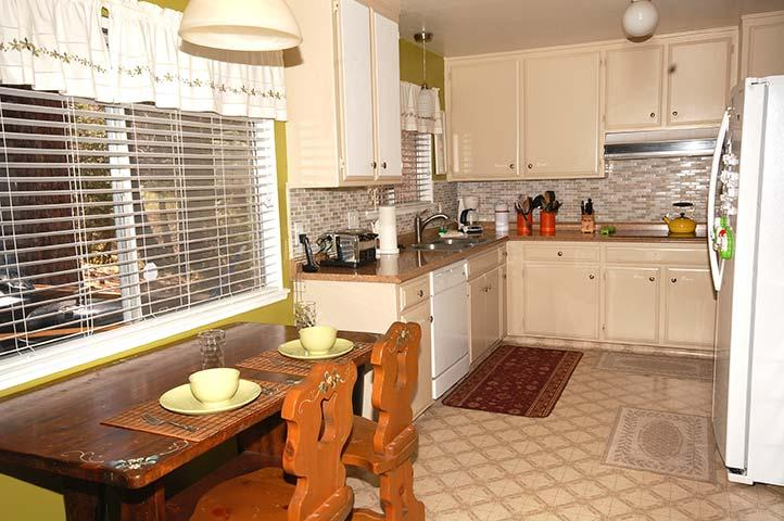 Kitchen with Extra Seating