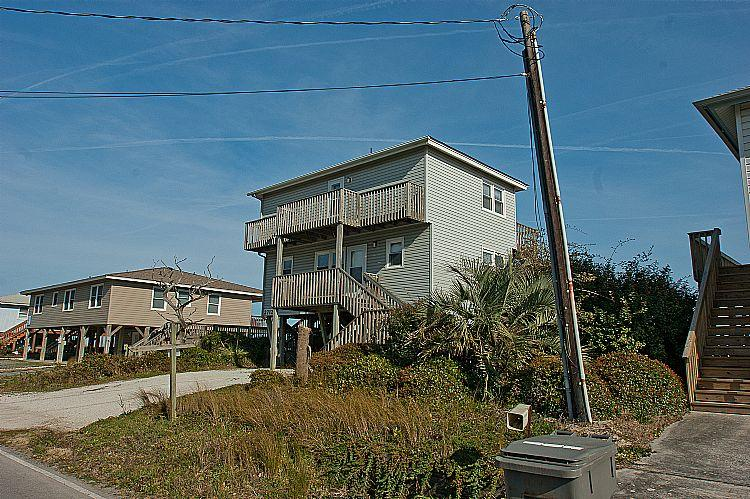 Street side view of Beach House