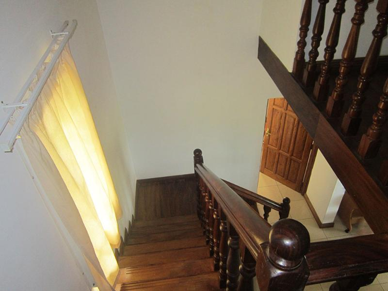 Stairs from first floor (bedrooms)