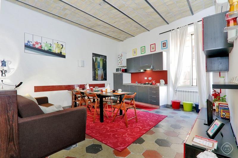 Moka Pop Living room + kitchen
