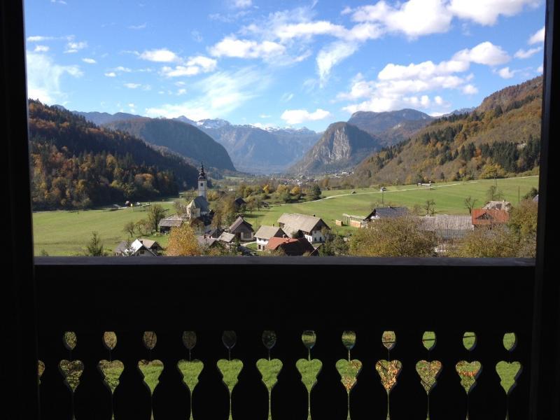 Panoramic View from Villa Bohinca