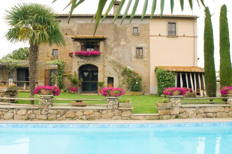Villa Arzilla country house, holiday rental in Celleno