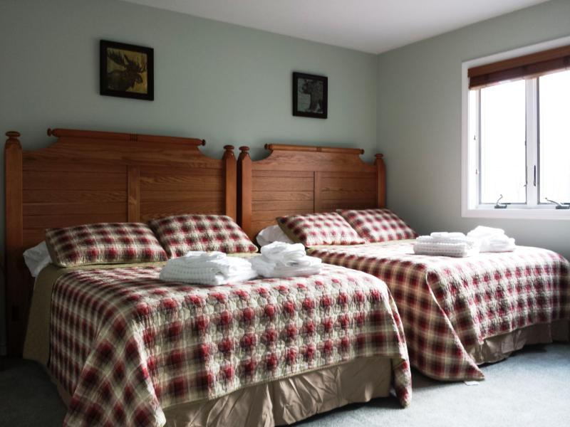 2nd Bedroom with 2 Full Size Beds.