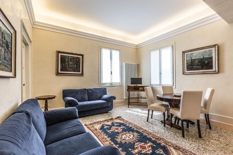 classic style living room of the Alighieri 'C' apartment