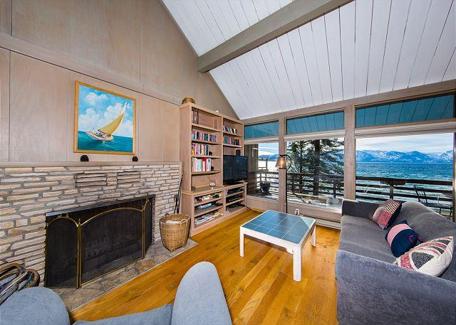 Tahoe, Lakeshore Living Room